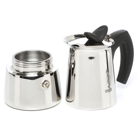 All i got was hot water and the ground coffee (when the pot cooled enough to disassemble, seemed completely dry and untouched by the steam. Bialetti Musa Stovetop Espresso Maker & Reviews | Wayfair