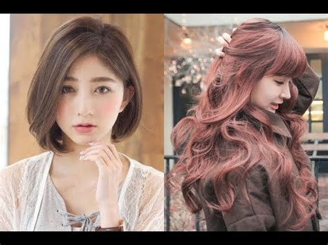 korean hairstyles  girls  youtube