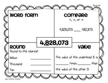 4 Nbt 1 Worksheets First Grade 4 Best Free Printable Worksheets