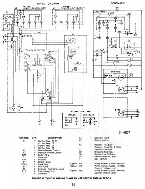 6 5 onan generator wiring diagram wiring diagram and