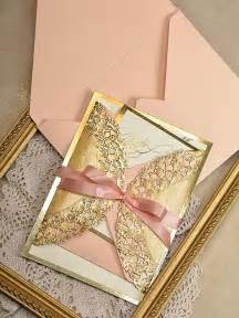 gold wedding invitations gold and wedding invitation gold invitation 2218359 weddbook