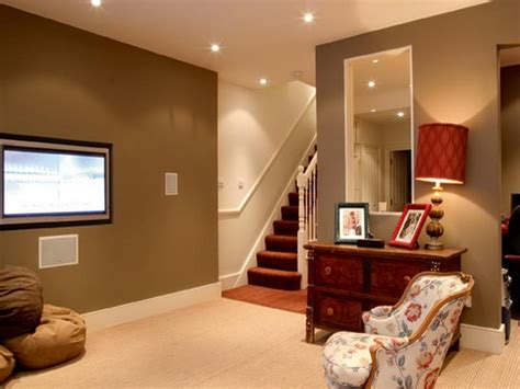 How To Decorate Basement Walls - miscellaneous cool small basement ideas interior