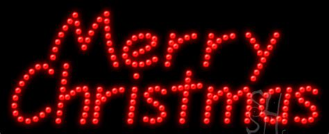 merry christmas animated led sign holiday special