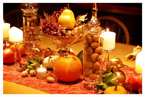 fall harvest table decorations pretty centerpiece for thanksgiving holiday decorating pinterest