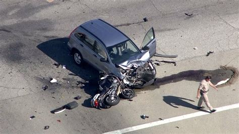 Covina Motorcycle Police Officer Killed In Crash