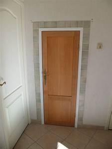 porte de garage bois sur mesure obasinccom With porte de garage et bati porte interieur