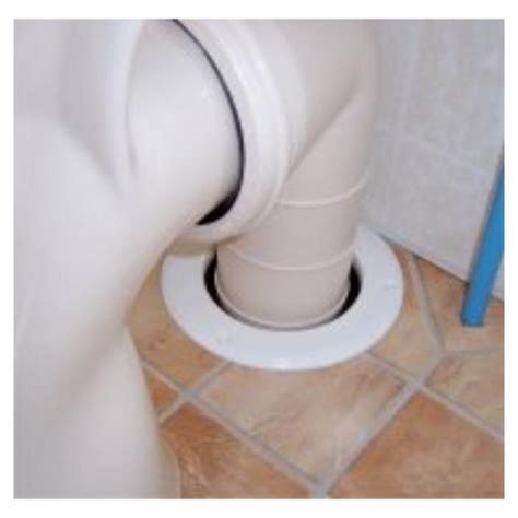 toilet waste outlet pipe hole tidy