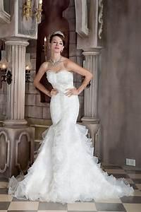 Robe De Mariee Sirene : robe de mariage sir ne froufrou en bas ~ Melissatoandfro.com Idées de Décoration