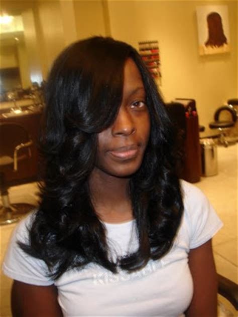 Black Sew Hairstyle Pictures by Hairstyle Sew In Weave Hairstyles Pictures