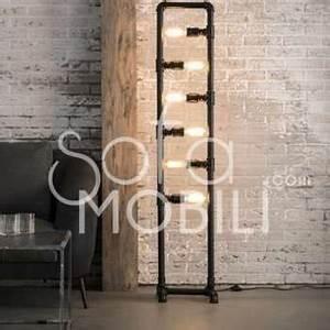 Lampadaire Salon Industriel : catgorie lampadaire du guide et comparateur d 39 achat ~ Teatrodelosmanantiales.com Idées de Décoration