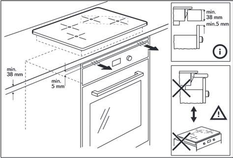 four de cuisine encastrable installer une plaque à induction au dessus du four notre