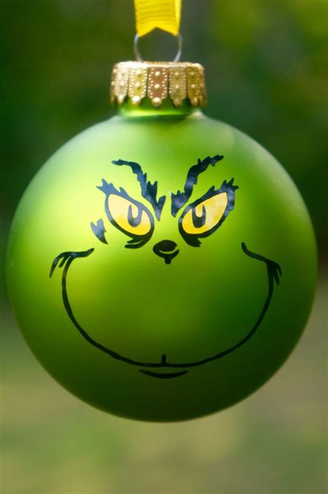 the grinch christmas tree ornaments grinch ornament christmas how the grinch by 6541