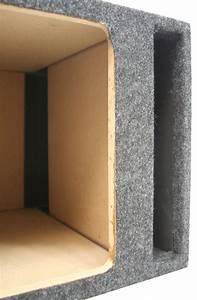 Square Kicker 12 U0026quot  Ported L3 L5 L7 Subwoofer Box Speaker