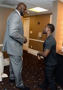 Shaquille O'Neal And Kevin Hart Pose For The Best Photo ...