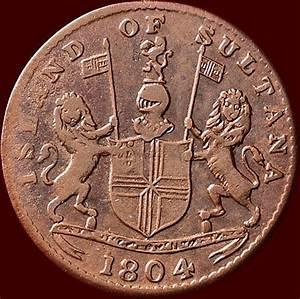 Indonesia - Island Of Sultana - Keping 1219  1804  Copper