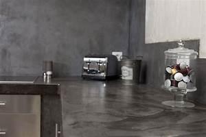 Béton Ciré Sur Plan De Travail : plan de travail cuisine en 71 photos id es inspirations conseils ~ Nature-et-papiers.com Idées de Décoration