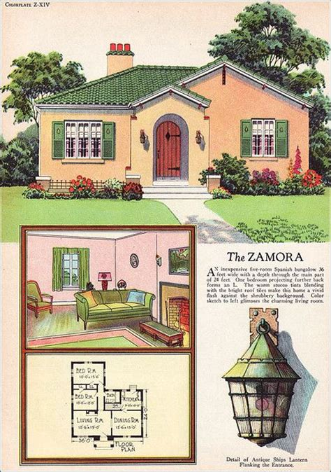 antique spanish house plans 40 best images about vintage floorplans on small homes kit homes and house plans