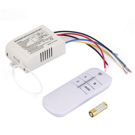wireless fan and light control ᗜ Lj new high quality 220v 3 웃 유 way way on off digital