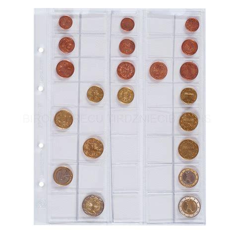 Kabatas eiro monētu kolekcijai Optima ⌀16.5 - 26 mm 5 gab ...