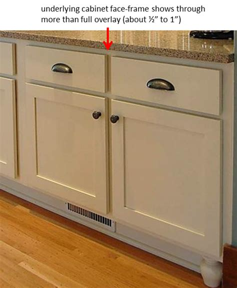 kitchen cabinet overlay partial overlay cabinet types kitchen 2651