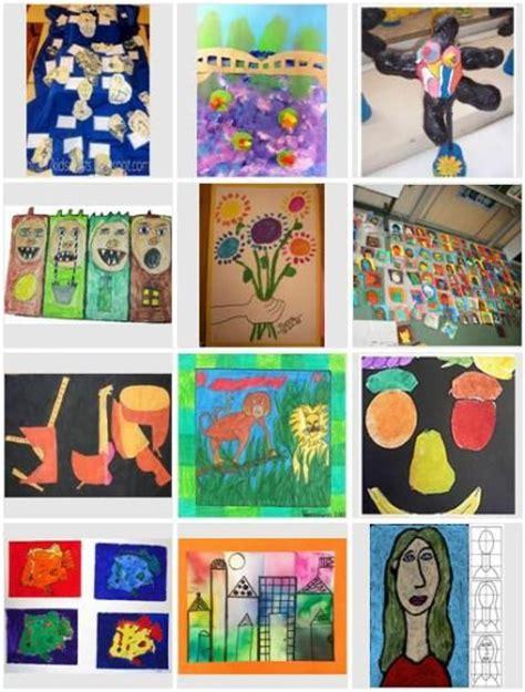 Gestalten Formen Farben Materialien by 1000 Images About Kunst Ideen F 252 R Den Unterricht On