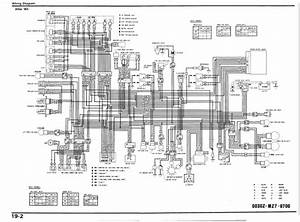 Honda Vfr750f  After 1993  Wiring Schematic