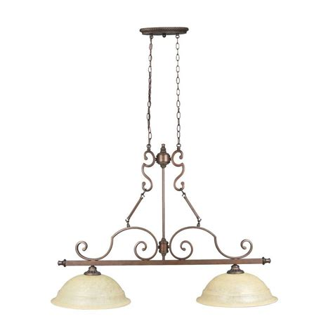 pendant light for kitchen home decorators collection fairview 2 light heritage 7689