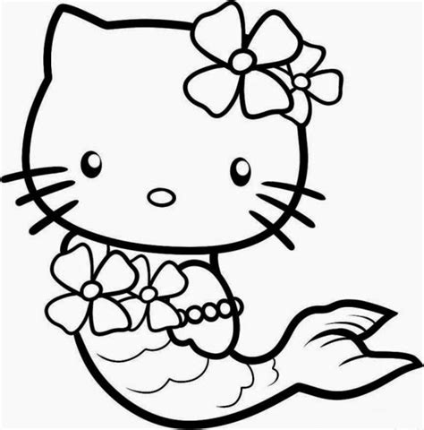 printable  kitty coloring pages printable