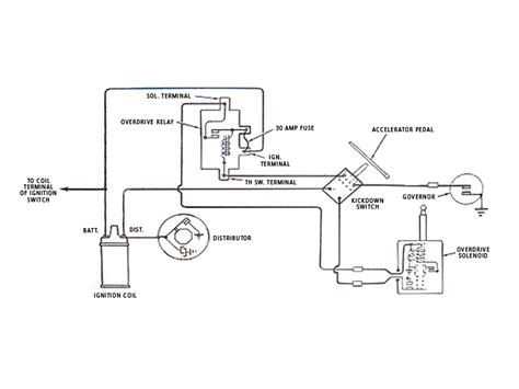 1956 Chevy Overdrive Wiring by 12 Volt Borg Warner Overdrive Wiring Diagram Wiring Diagram