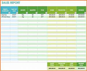 12  Sales Tracking Spreadsheet Template