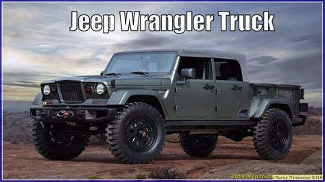 New Jeep Wrangler Truck by 2018 Jeep Truck New Wrangler Spied Send In The