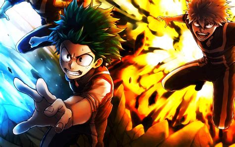 Anime Ultra Hd Wallpapers - 4k ultra hd 16 10 bnha explossions my