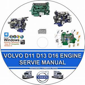 Volvo Truck D11 D13 D16 Engine Service Repair Manual