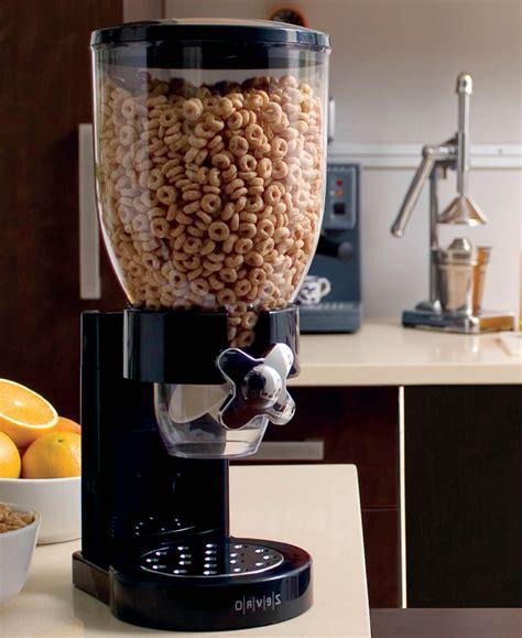 Countertop Food Dispenser   Black in Cereal Dispensers