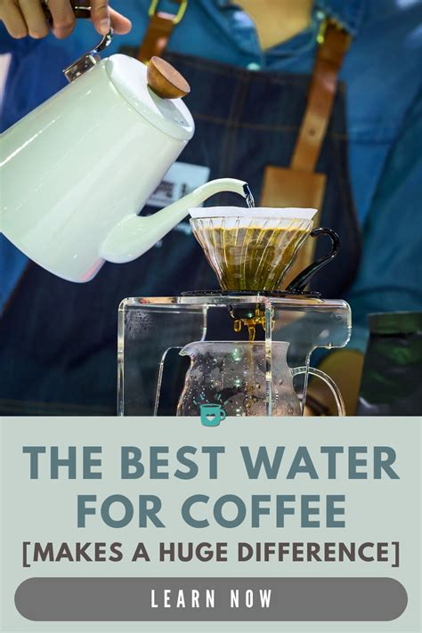 It's also pretty easy to learn and start cranking out delicious coffee right away. Best Water Filter for Coffee Brewing (Makes a HUGE difference) in 2020   Coffee recipe healthy ...