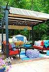 Creating an Outdoor Living Space - Jenna Burger outdoor patio living