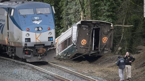 Amtrak Train Derailment Leaves 'a Thousand Unanswered