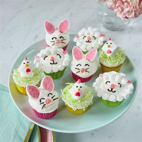 Decorating Ideas For Easter Cupcakes by Easter Cupcake Ideas Decorating Billingsblessingbags Org