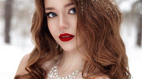 唯美漂亮的外国美女个性写真,高清图片,电脑桌面-壁纸族