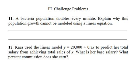 problem solving with linear functions answer key buy paper