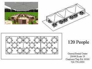60 X 60 Tent  U0026 40u2032 X 60u2032 Seating For 128 People Sc 1 St Varsity Tents And Events Rentals
