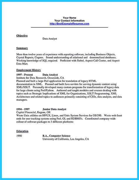 How to format your data analyst resume. High Quality Data Analyst Resume Sample from Professionals
