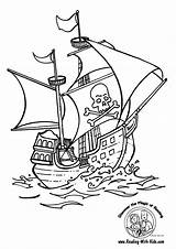 Pirate Coloring Pages Boys Super sketch template