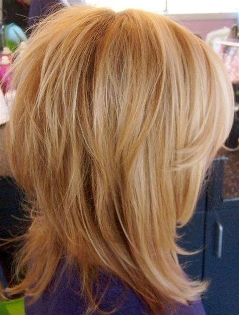 fantastic medium layered hairstyles   pretty