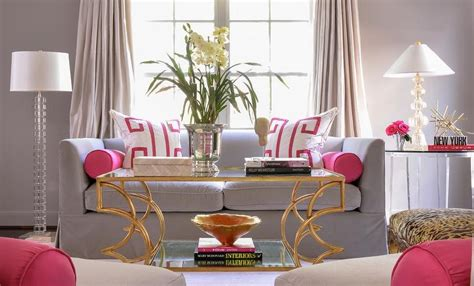 Pink And Gray Living Rooms Lamp Shade Ceiling Light Glass Cylinder Table Sony Xl 2100u Heat Bathroom Fixture G40 Nursery Lamps Vintage Infrared For Muscle Pain