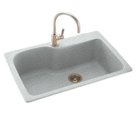 solid surface kitchen sink swanstone drop in undermount solid surface 33 in 1