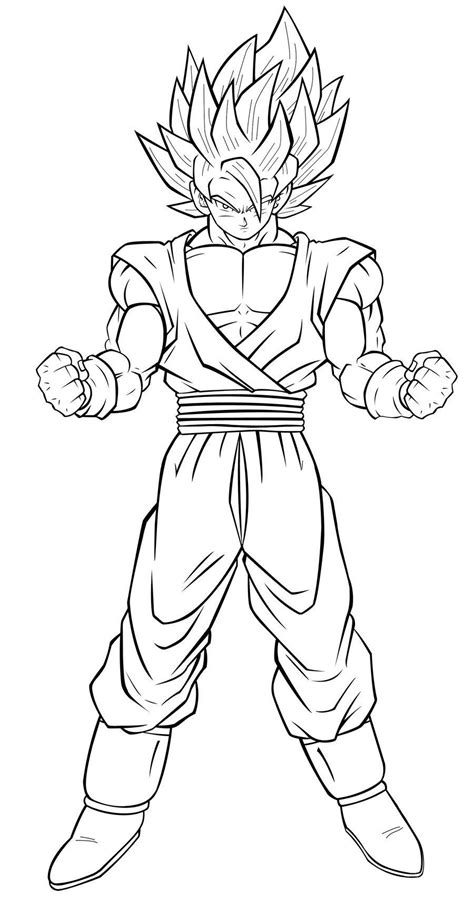 goku black coloring pages coloring home