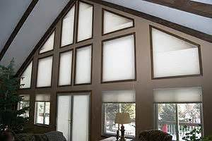 specialty shaped windows  blind spot
