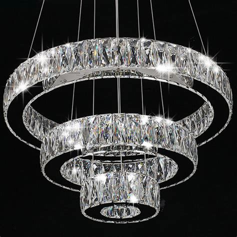Lighting Modern Chandelier by Modern Ring Led Pendant L Ceiling Lights