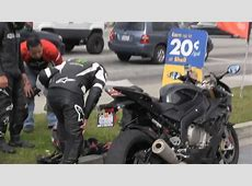 Broken BMW S1000RR Epic Fail Sport Bike Ride With The